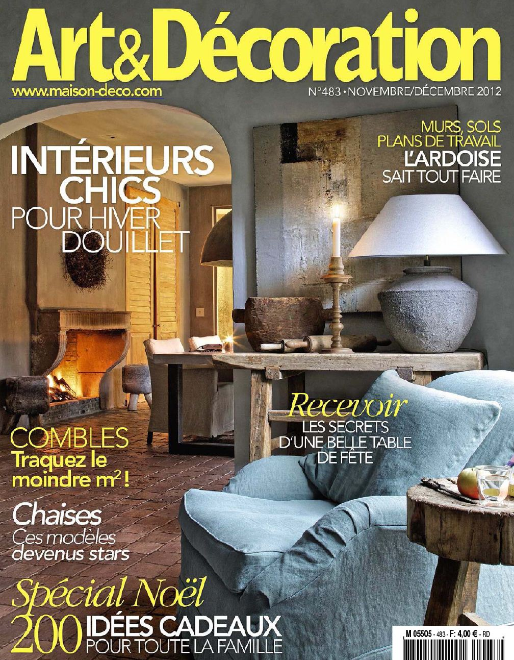 Un int rieur moderne des id es dans un magazine d co for Art et decoration magazine feuilleter